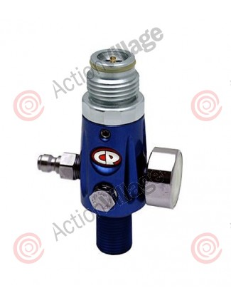 CP Compressed Air Tank Regulator - 4500 PSI - Blue