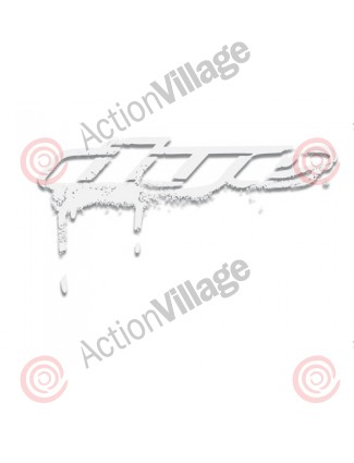 "Dye Paintball Sticker Drip 3"" - White"