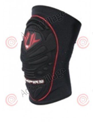 Empire Ground Pounder SE Knee Pads - Black/Red
