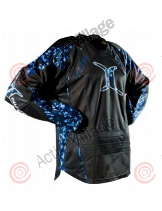 Empire 2008 08 Invert SE Paintball Jersey - Blue Digi Camo