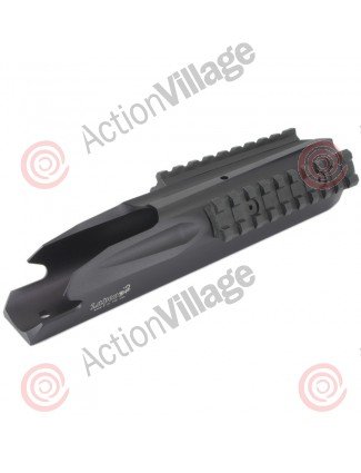 Lapco Ion Milsim Body w/ Weaver Rails - Dust Black
