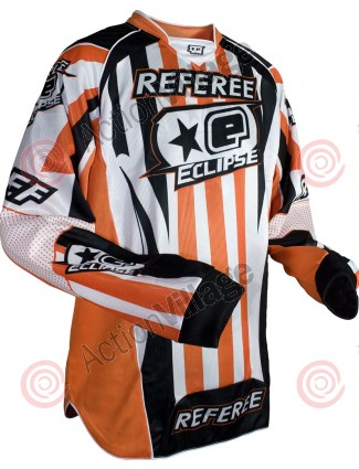 Planet Eclipse 2010 Ref Paintball Jersey - Orange/White