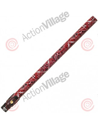 "Stiffi One Piece Carbon Fiber Barrel - Angel Thread 16"" - Skullstik Red"