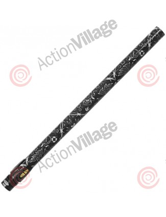 "Stiffi One Piece Carbon Fiber Barrel - Ion Thread 14"" - Skullstik Black"