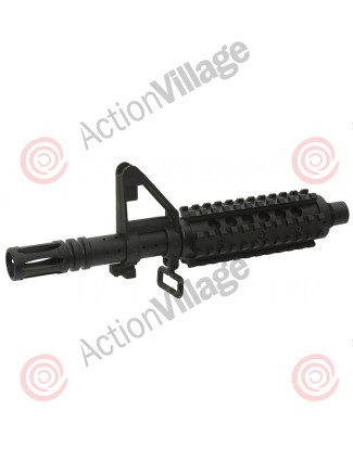 Valken SW-1 Barrel Kit w/ Rail System - Black