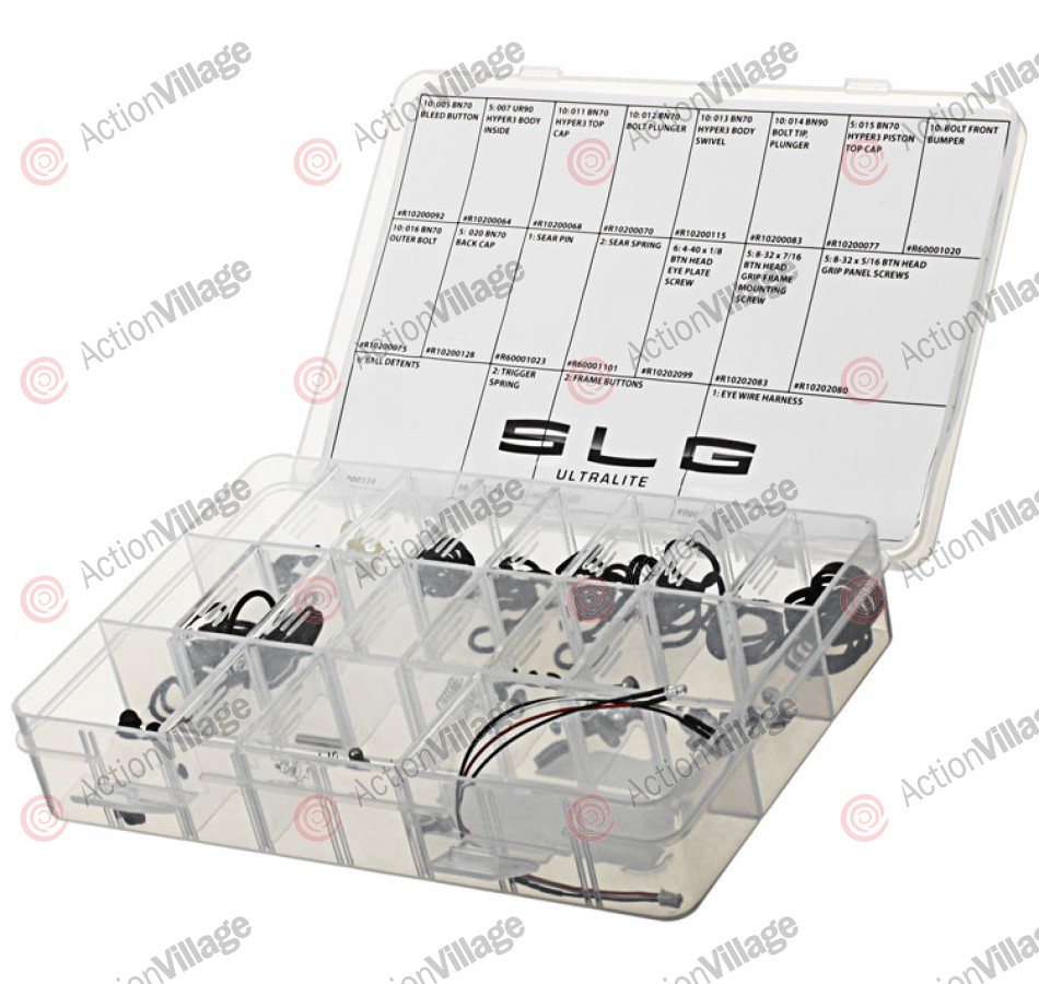 Proto SLG 09 Ultralite Replacement Parts Kit - Medium