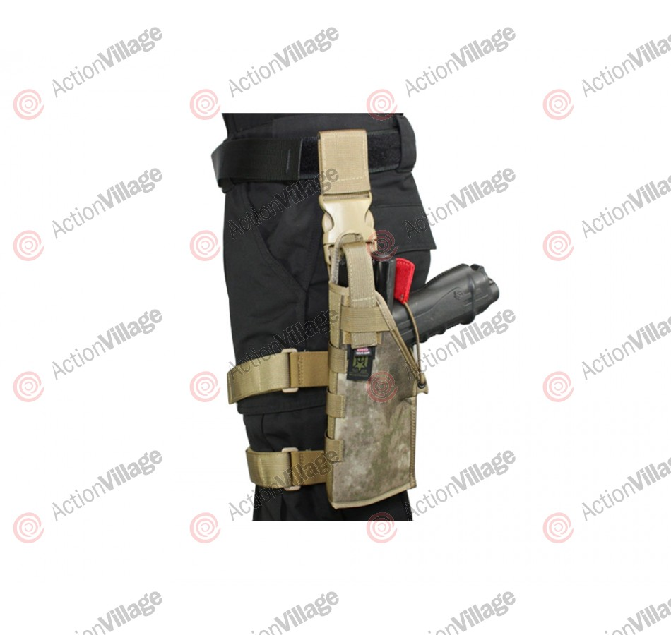 Full Clip Gen 2 Holster Thigh Rig - Left - Atacs