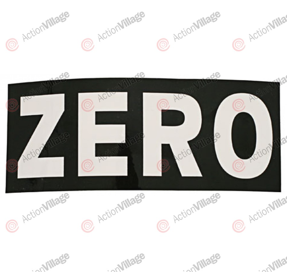 Zero Matrix - Sticker