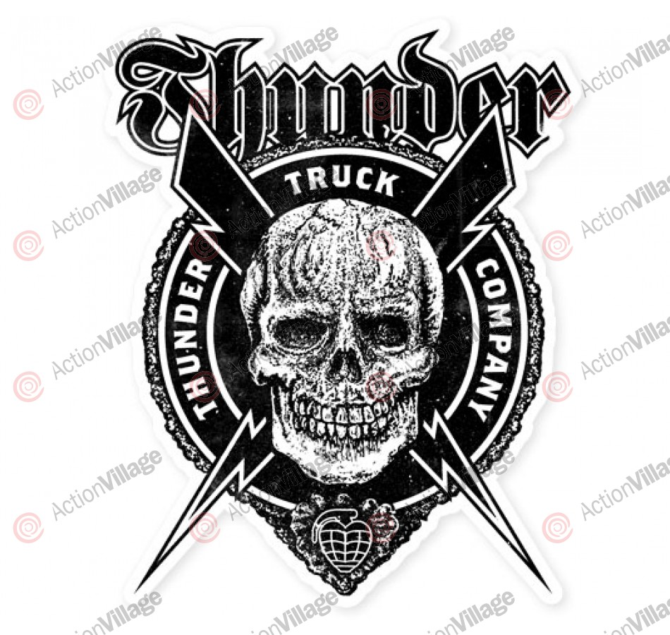 Thunder Por Vida Die Cut Large - Sticker