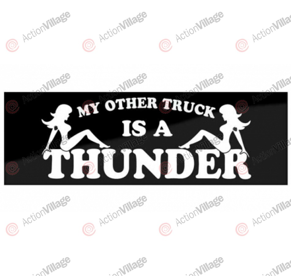 Thunder Other Truck Bumper Medium - Sticker