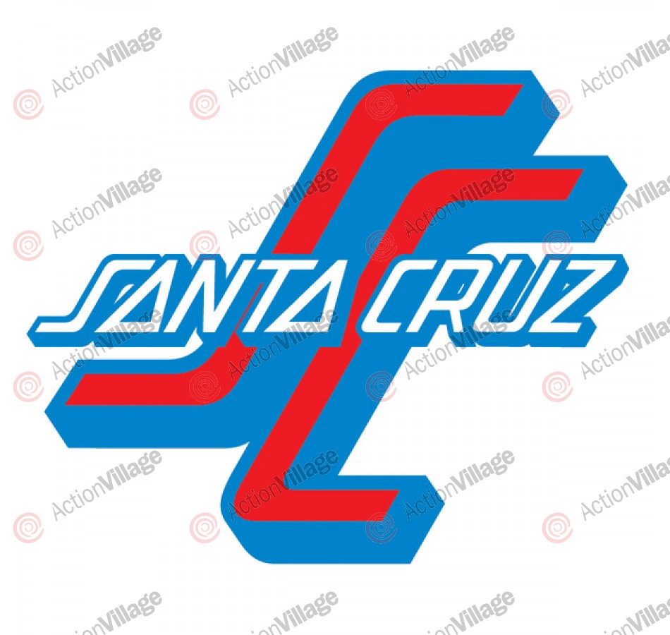 Santa Cruz OGSC Decal 3in - Blue/Red - Sticker