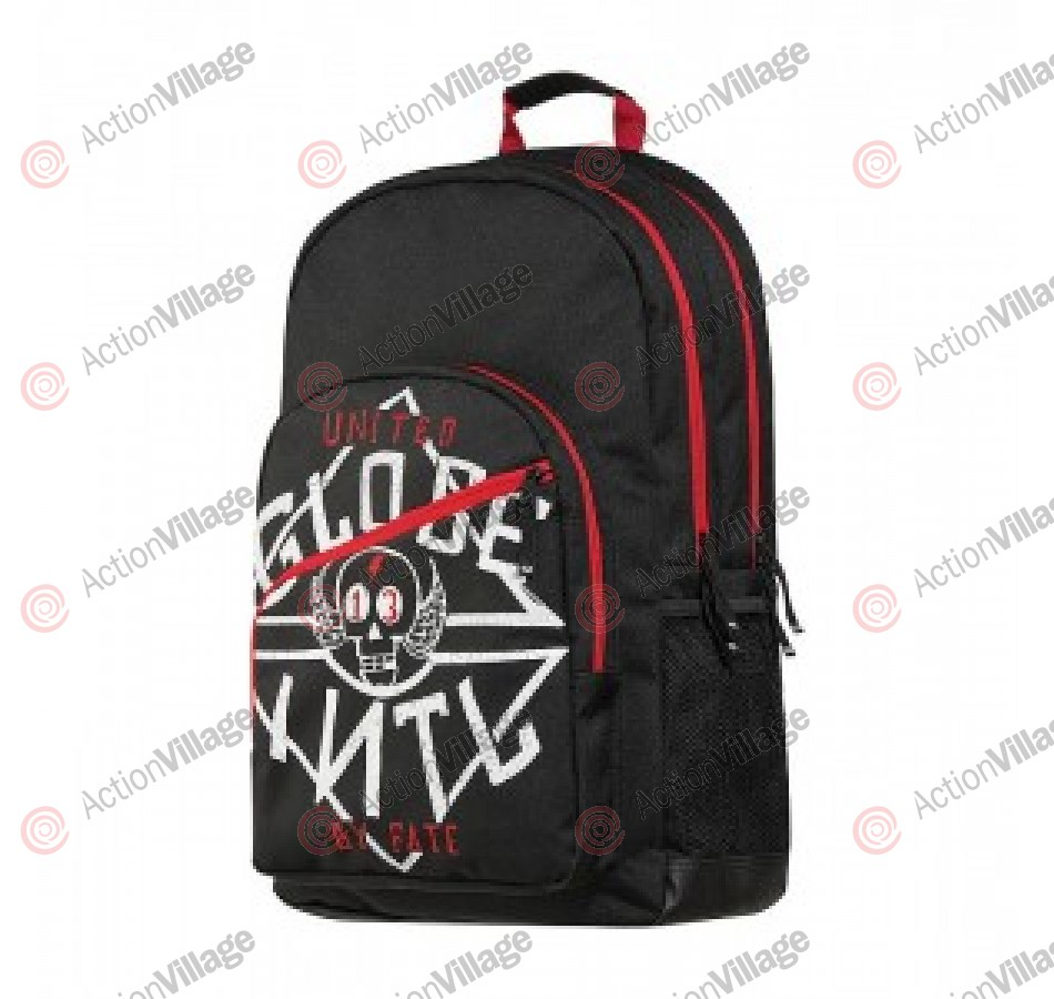Globe Jagger - Black/Red - Backpack