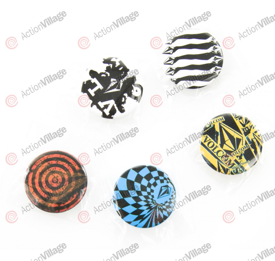 Volcom Holiday 2009 Button Pack