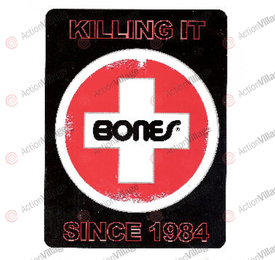 Bones Killing it Since 1984 - 5in x 6 5/8in - Sticker