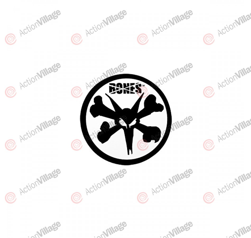 Bones Rat Circle - 1.75in - Sticker - Assorted Colors