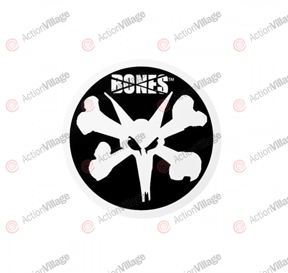 Bones Rat Circle - 4in - Sticker - Assorted Colors