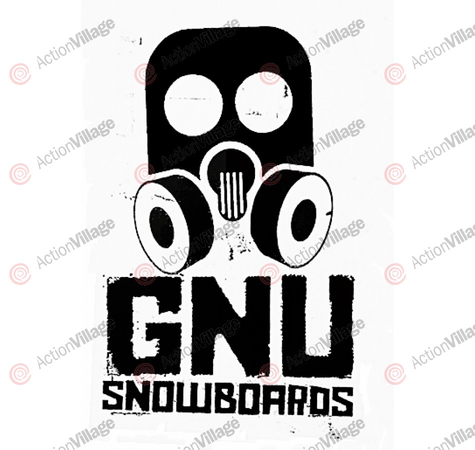 GNU Big 8 inch - Sticker - Assorted Colors