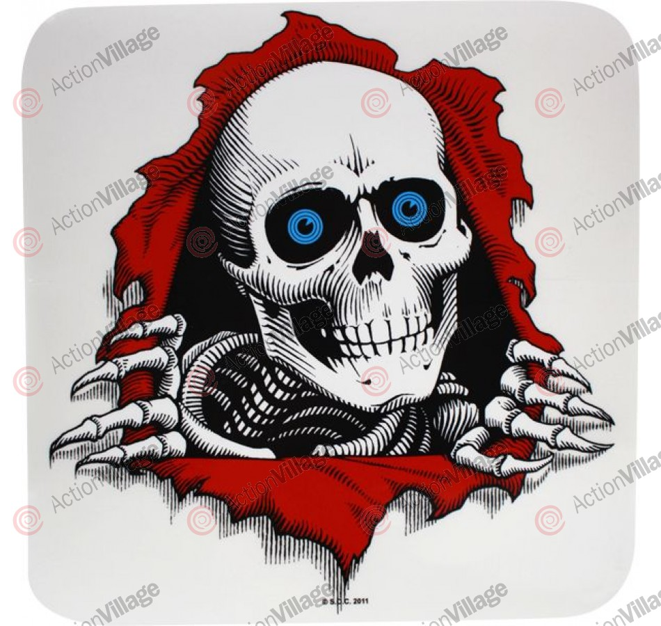 Powell Peralta Ripper Ramp Decal 12