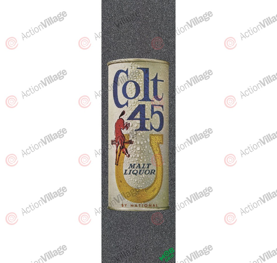 Mob PBC Colt 45 Vintage Can Grip Tape 9in x 33in  - 1 Sheet - Skateboard Griptape