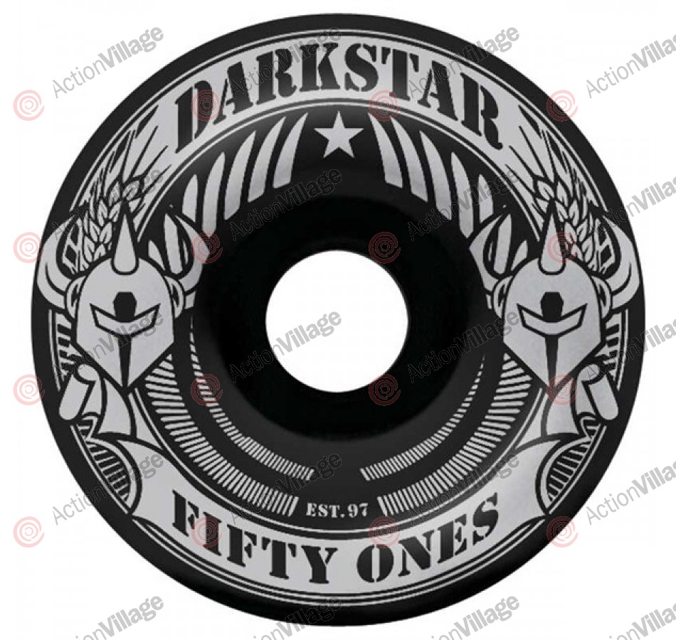 Darkstar Revolt Price Knight - Black/Silver - 51mm - Skateboard Wheels
