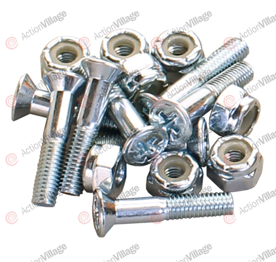 Independent Genuine Parts Phillips Hardware 1in Silver - Skateboard Mounting Hardware