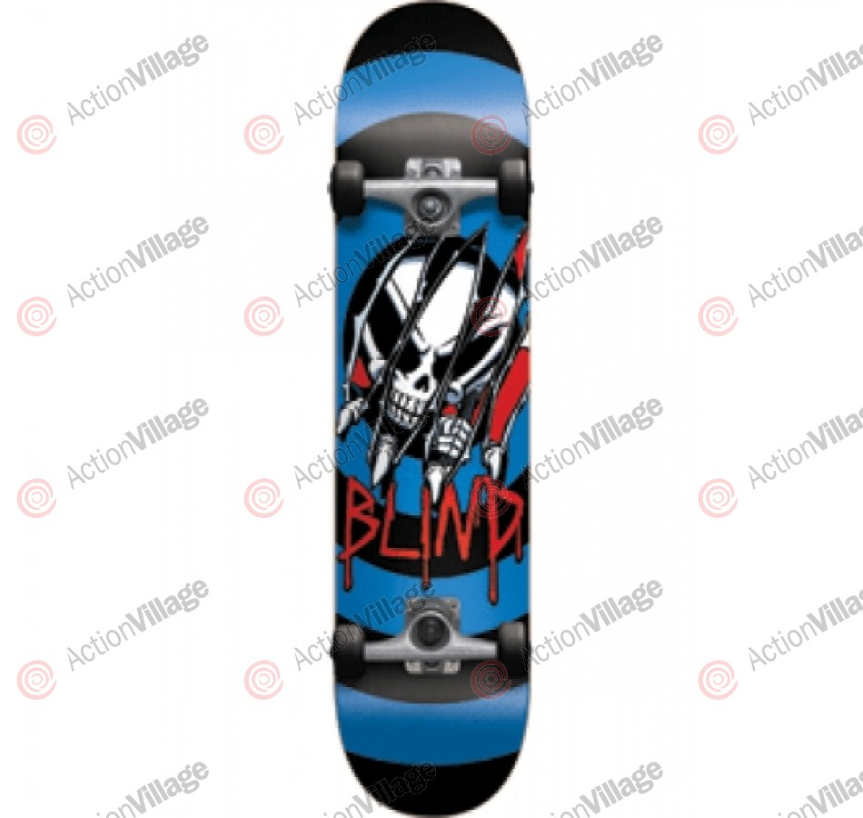 Blind Crash SS Complete - Blue - 7.6 - Complete Skateboard