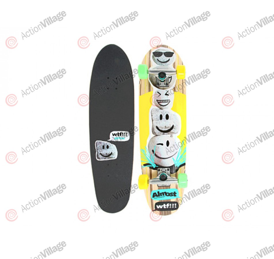 Almost Smileys Rock Cruiser Complete - Multi - 32 - Complete Skateboard