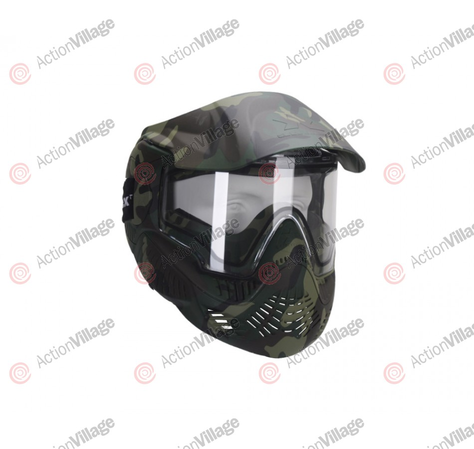 Sly Annex MI-7 Paintball Mask - Woodland Camo