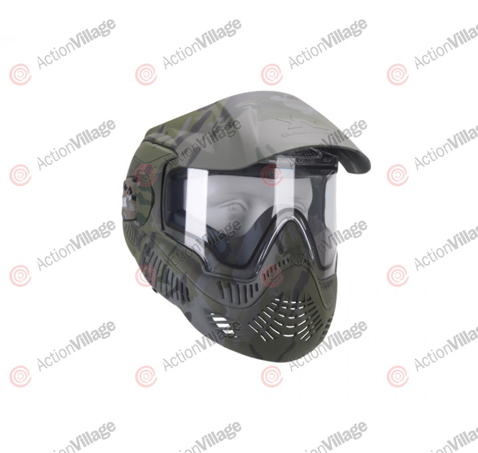 Sly Annex MI-7 Paintball Mask - Black Sly Camo