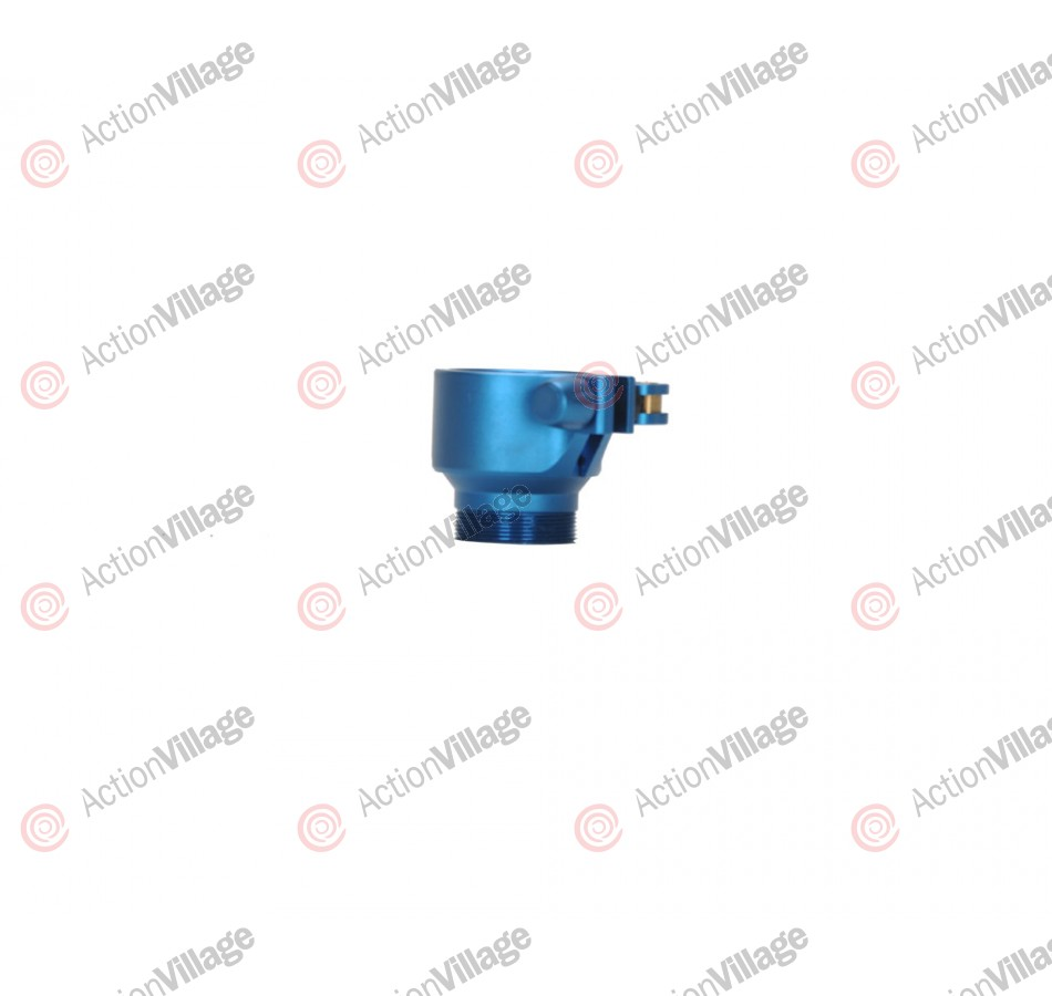 Shocktech Dye/Proto Clamping Feed Neck - Dust Blue