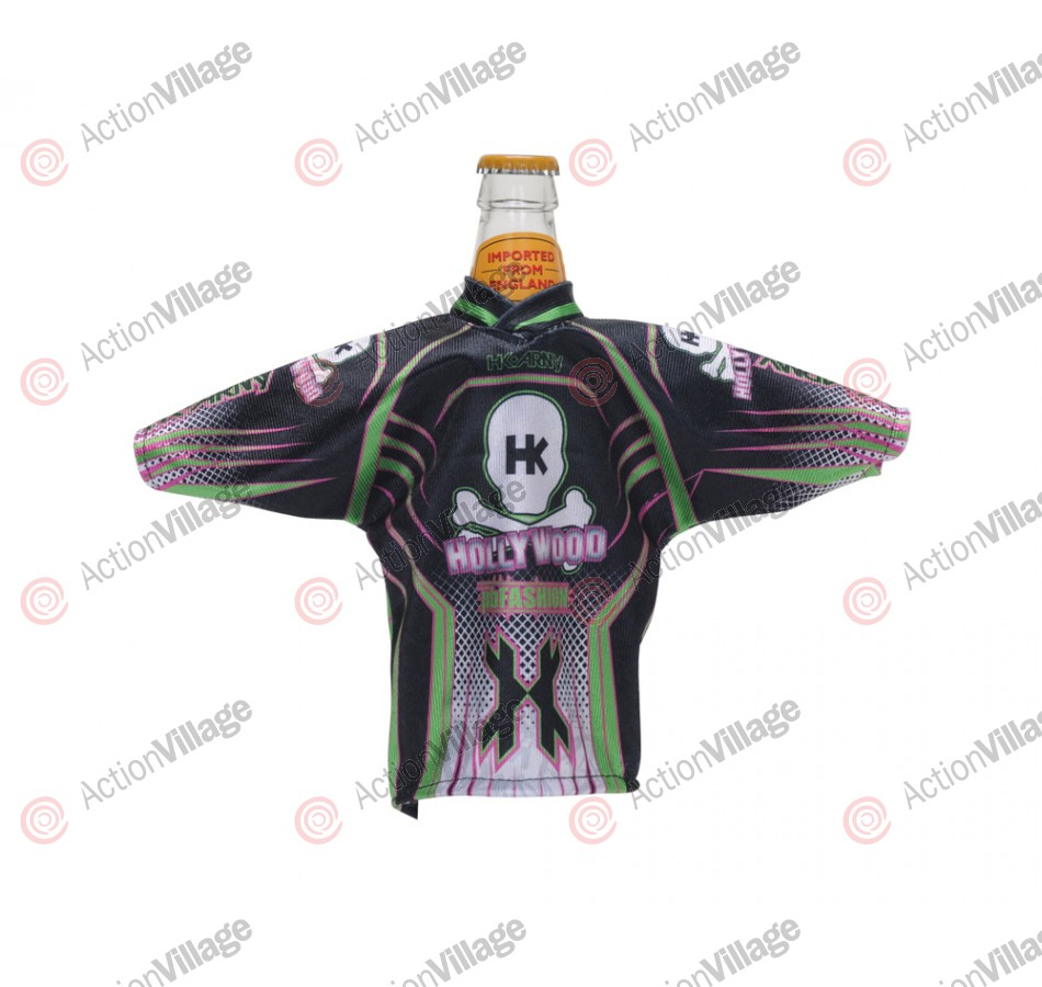 HK Army Mr. Bottle Mini Jersey - Black/Green