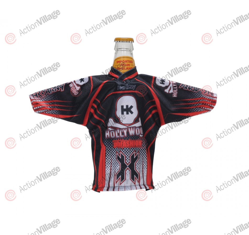 HK Army Mr. Bottle Mini Jersey - Black/Red