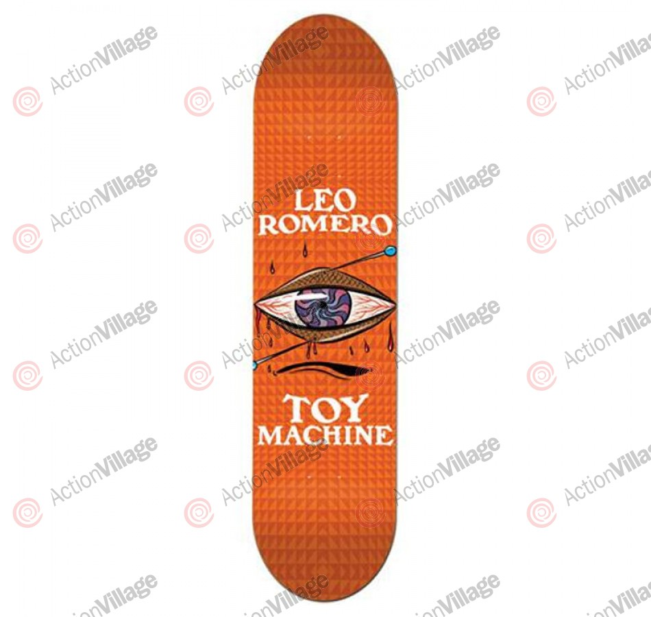 Toy Machine Brainwashed - Leo Romero - 7.75 in. - Skateboard Deck