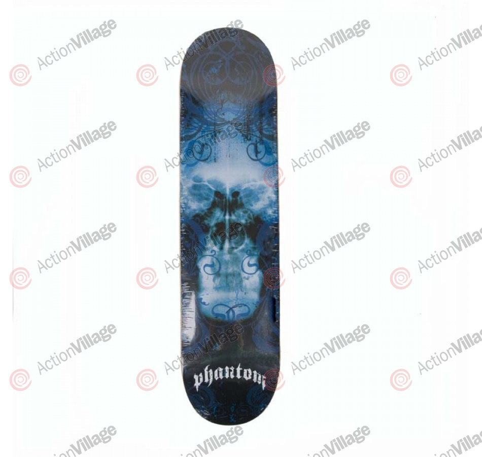 Phantom X-Ray Blue - 7.5 in. x 31.0 in. Skateboard Deck