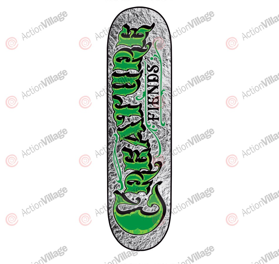 Creature Mirrorz SM Powerply - 31.0in x 7.5in - Silver - Skateboard Deck
