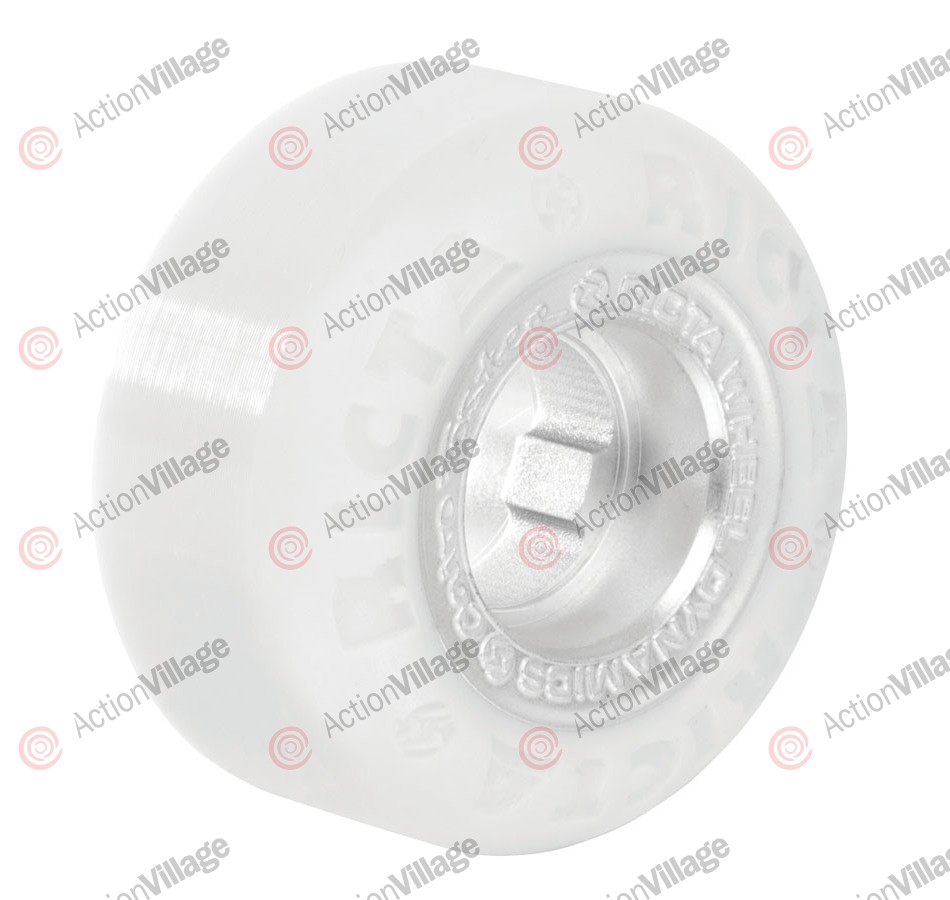 Ricta 52mm Foster Chrome Core White Chrome 81b - Skateboard Wheels