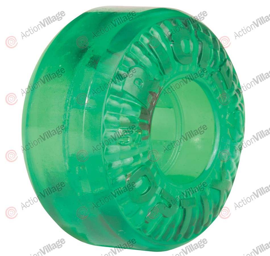 Ricta Optix Clear Green 81b 52mm - Skateboard Wheels