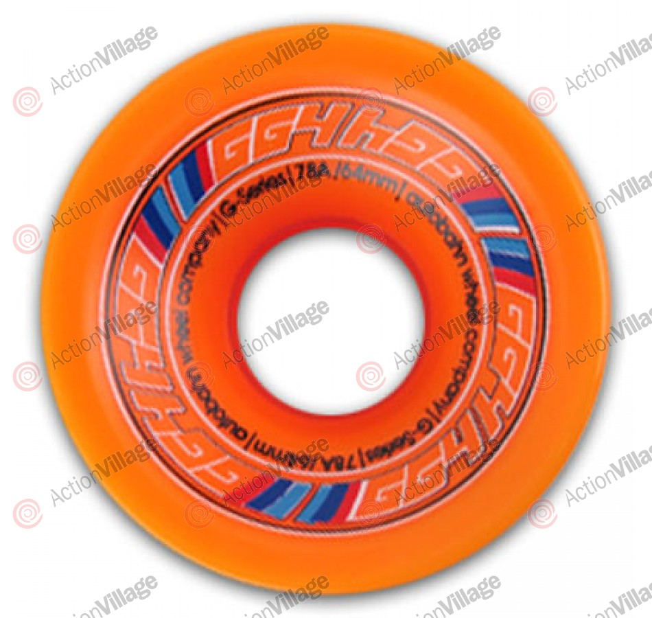 Autobahn Wheels G Series - 64mm - Orange