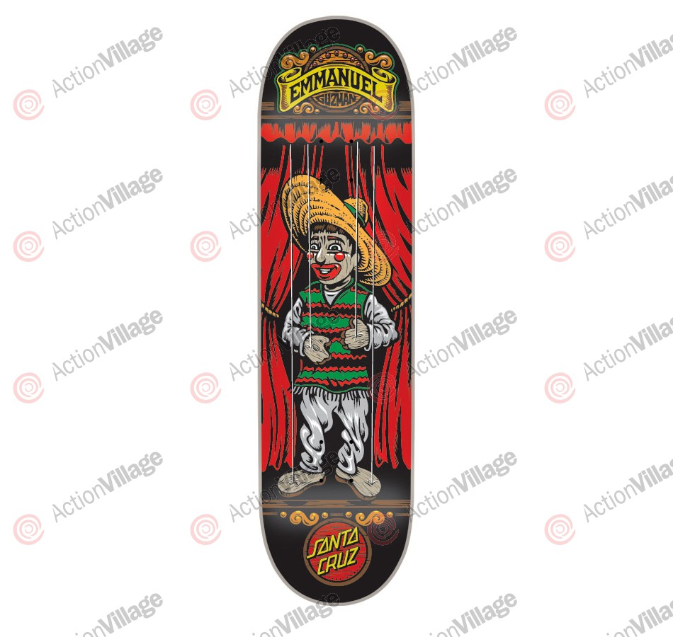 Santa Cruz Guzman Marionette Powerply - 31.6in x 8in - Skateboard Deck
