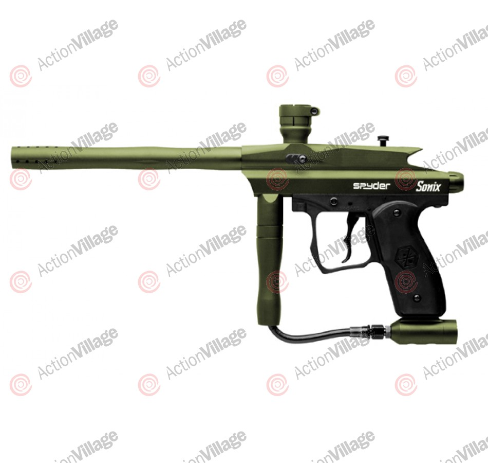 Kingman Spyder Sonix Paintball Gun - Olive