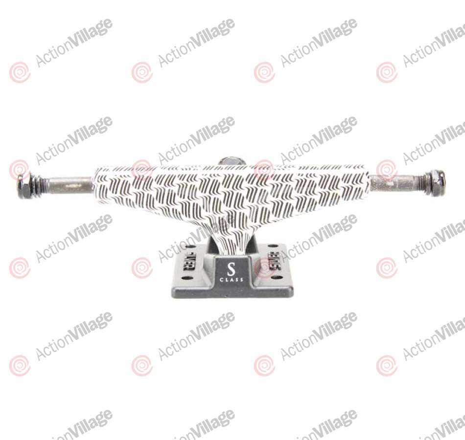 Silver S Class (Set of 2) - 7.5 Inch - Optic - Skateboard Trucks