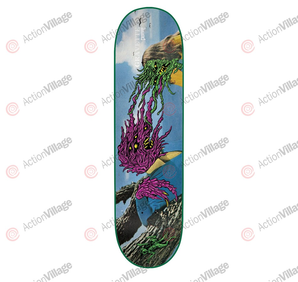 Creature Gravette Creeps Powerply - 31.6in x 8in - Skateboard Deck
