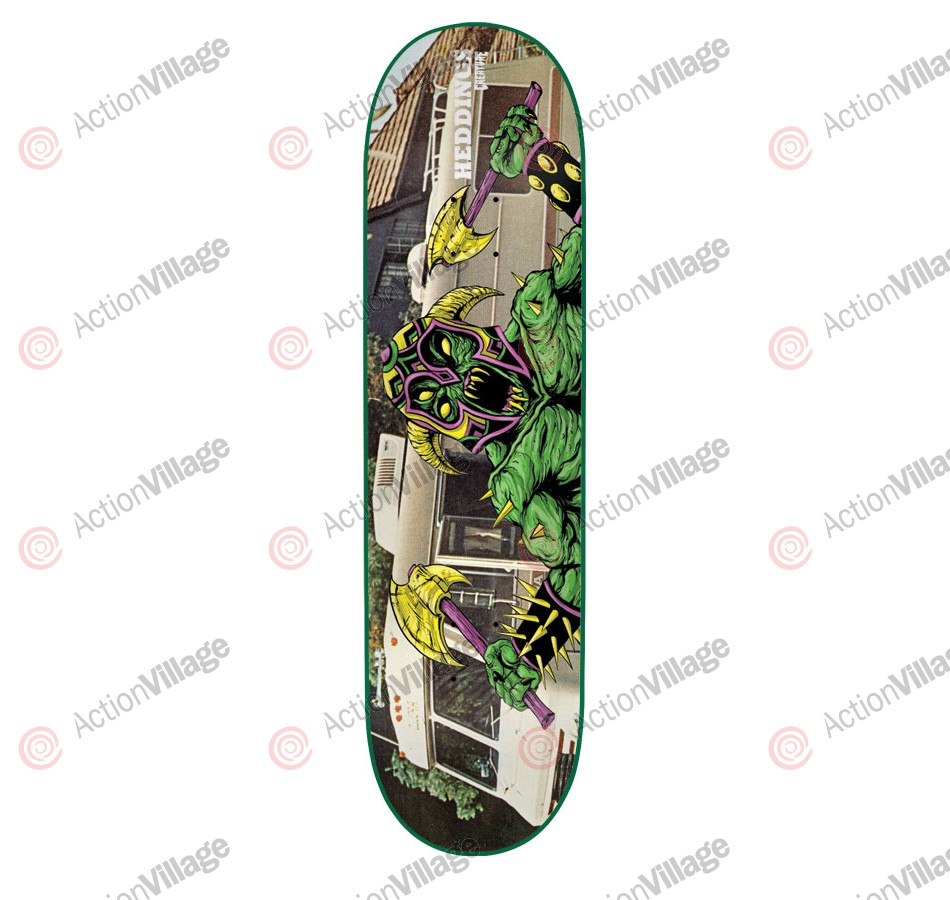 Creature Heddings Creeps Powerply - 31.7in x 7.9in - Skateboard Deck