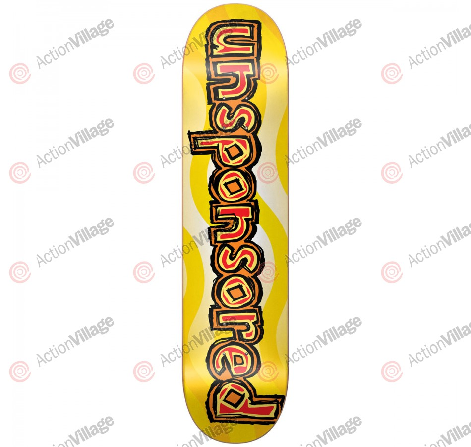 Blind Unsponsored R7 - Yellow/Red - 8.25 - Skateboard Deck