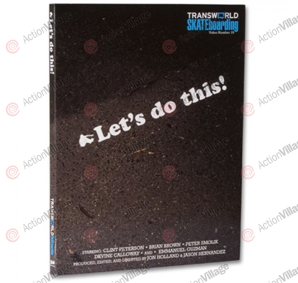 Transworld Let's Do This! - DVD