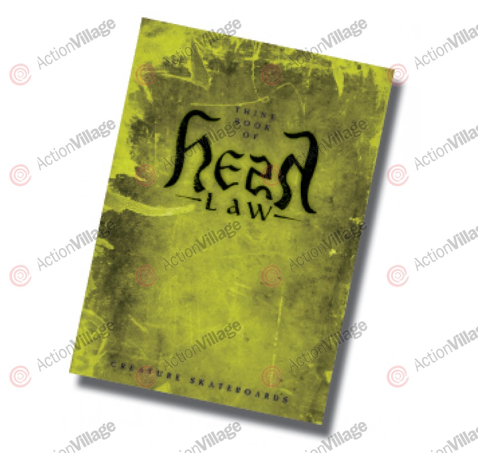 Creature Hesh Law Standard Edition - DVD