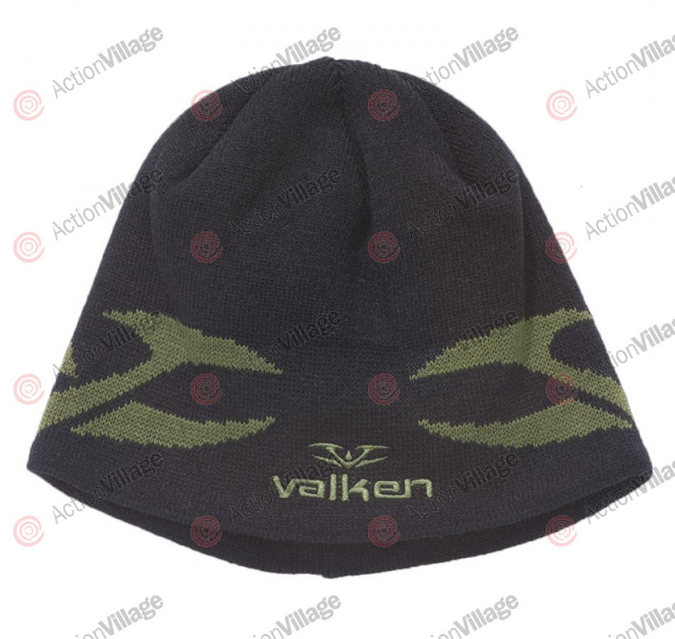 2011 Valken Tribal Beanie - Black/Olive