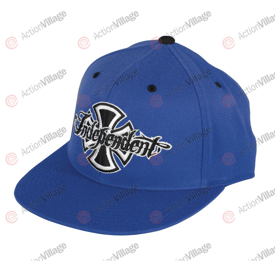 Independent Brushed Flexfit Fitted Stretch - Dark Blue - Hat