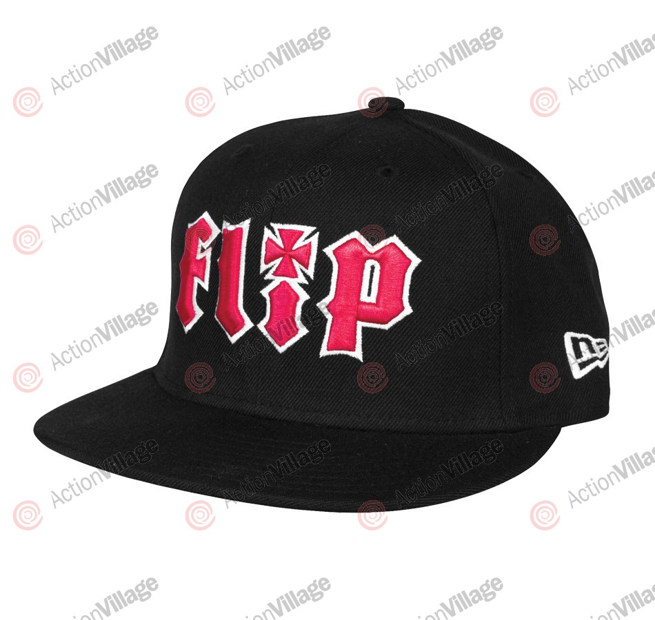 Flip HKD New Era 59 Fifty - Black - Men's Hat