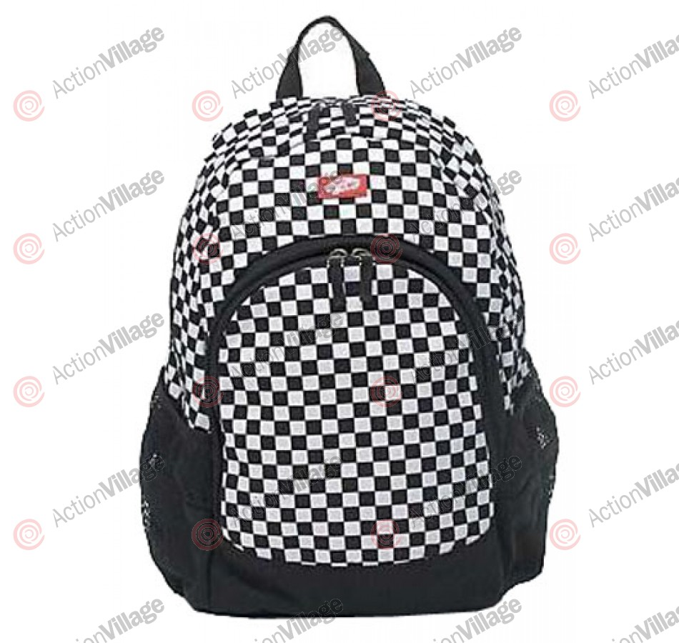 Vans Van Doren - Black/White Checker - Backpack